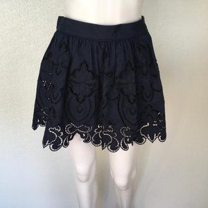 Ramy Brook Woman Skirt Embroidered Flowers DM69